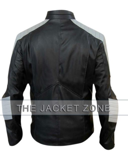 Black Grey Superman Smallville Jacket