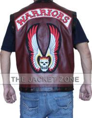 The Warriors Vest Maroon