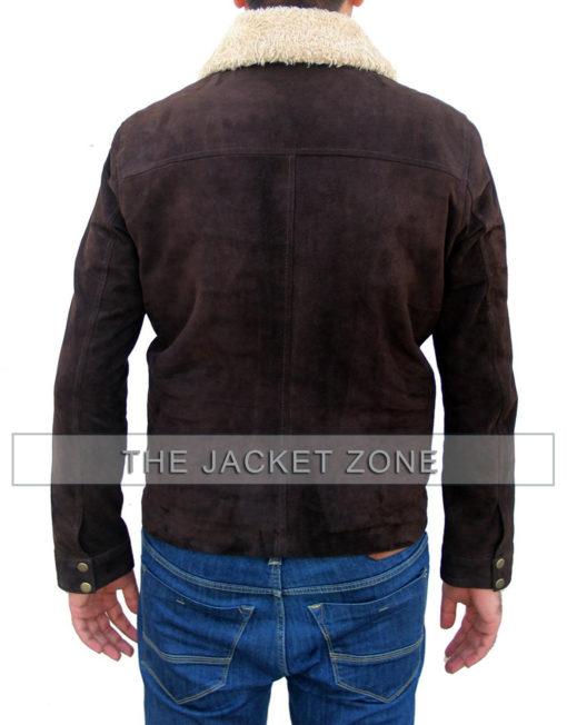 Rick Grimes Suede Jacket