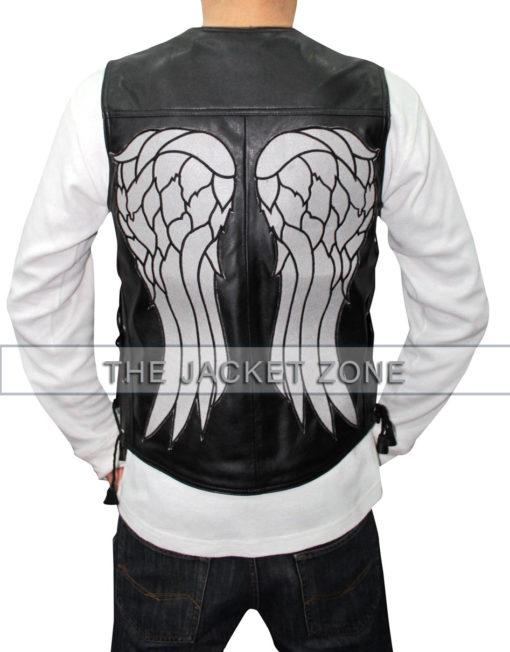 The Walking Dead Daryl Dixon Lleather Vest