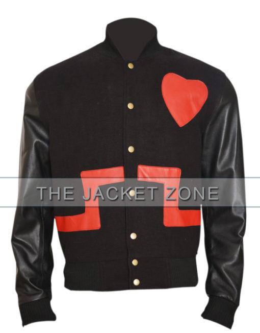 chris brown love not hate valentines unisex jacket