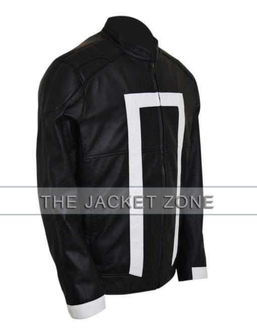 Gabriel Luna Agents of Shield Ghost Rider Black Jacket