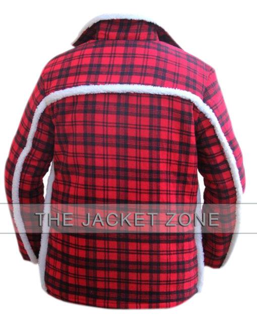 Ryan Reynolds Shearling Deadpool Jacket