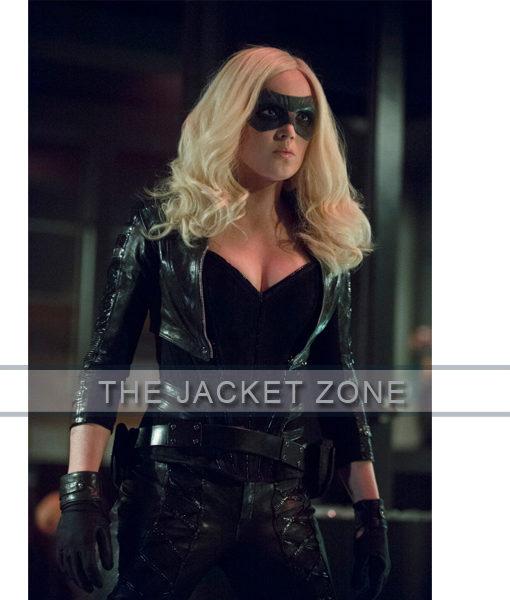 Arrow Season 2 Katie Cassidy Black Canary jacket