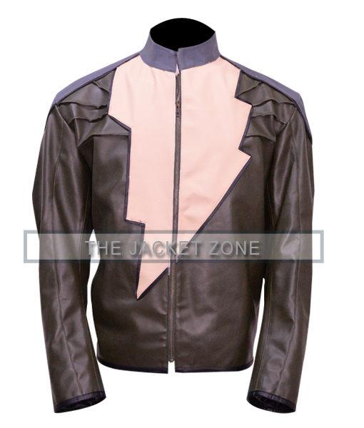 Dwayne Johnson Black Adam Injustice jacket