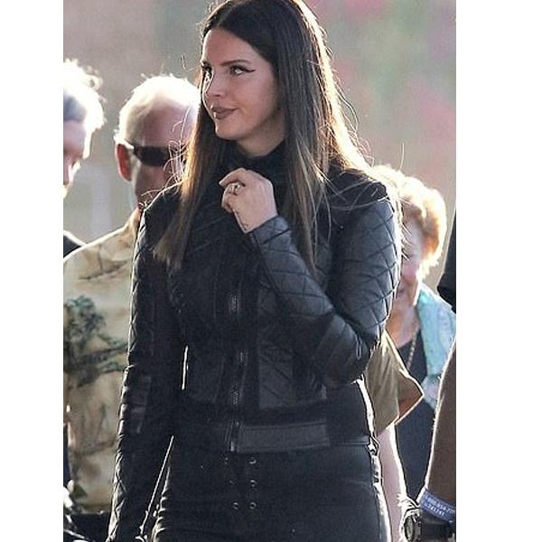 Lana Del Rey Motorcycle Leather Jacket
